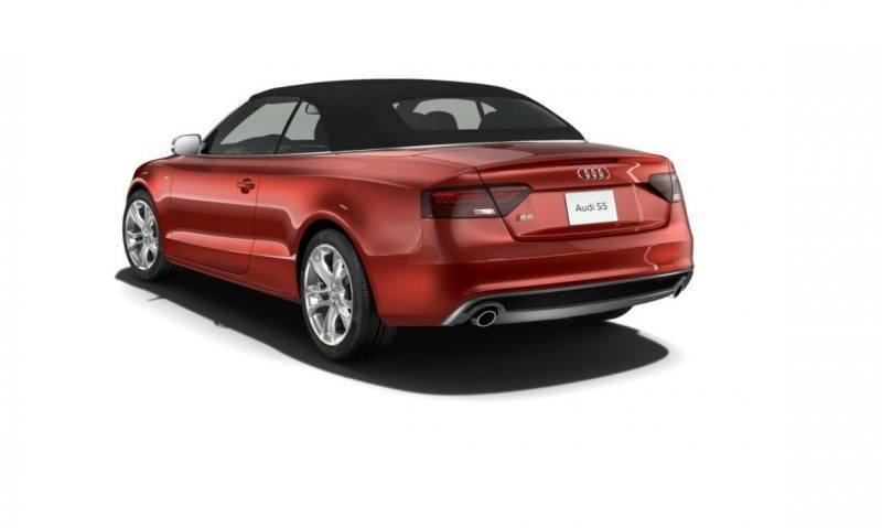 2014 Audi A5 Sport Package Cabriolet COLORS 55