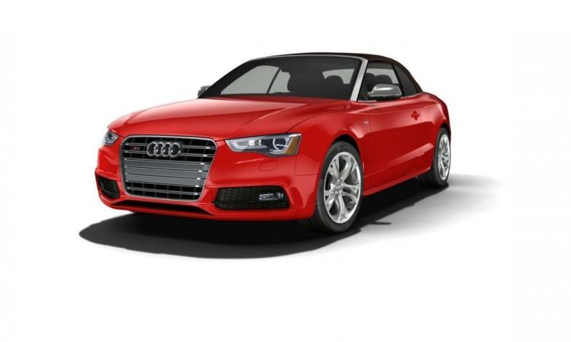 2014 Audi A5 Sport Package Cabriolet COLORS 60