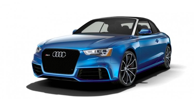 2014 Audi RS5 Cabriolet Buyers Guide - Black Optics vs Matte Aluminum Optics 1
