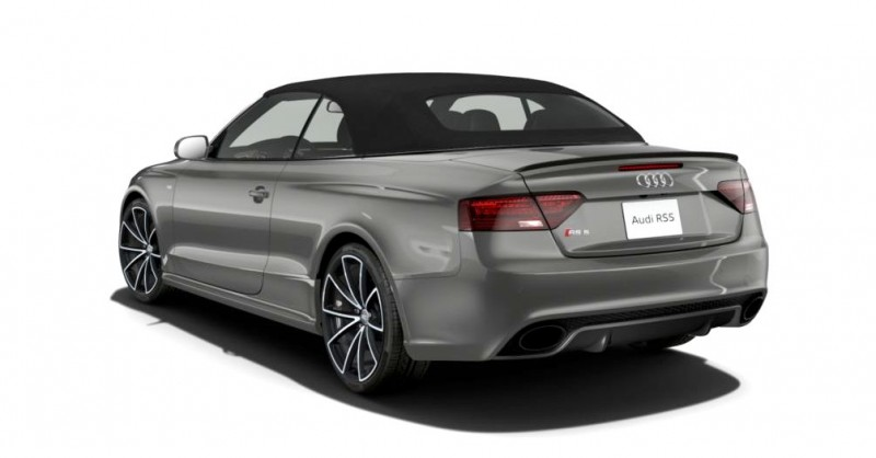 2014 Audi RS5 Cabriolet Buyers Guide - Black Optics vs Matte Aluminum Optics 18