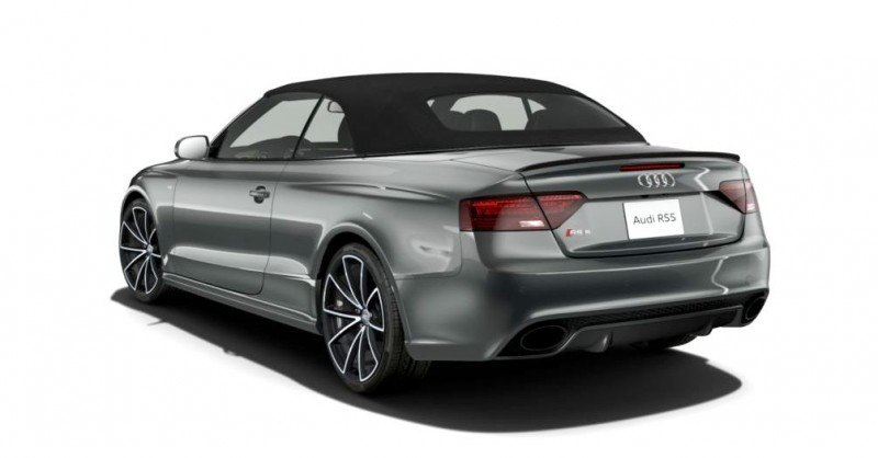 2014 Audi RS5 Cabriolet Buyers Guide - Black Optics vs Matte Aluminum Optics 23