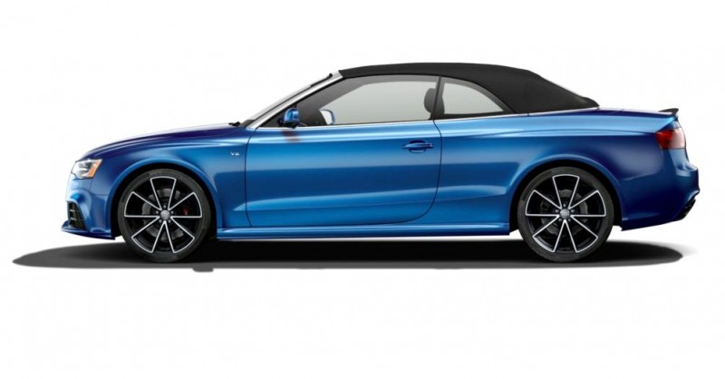 2014 Audi RS5 Cabriolet Buyers Guide - Black Optics vs Matte Aluminum Optics 4