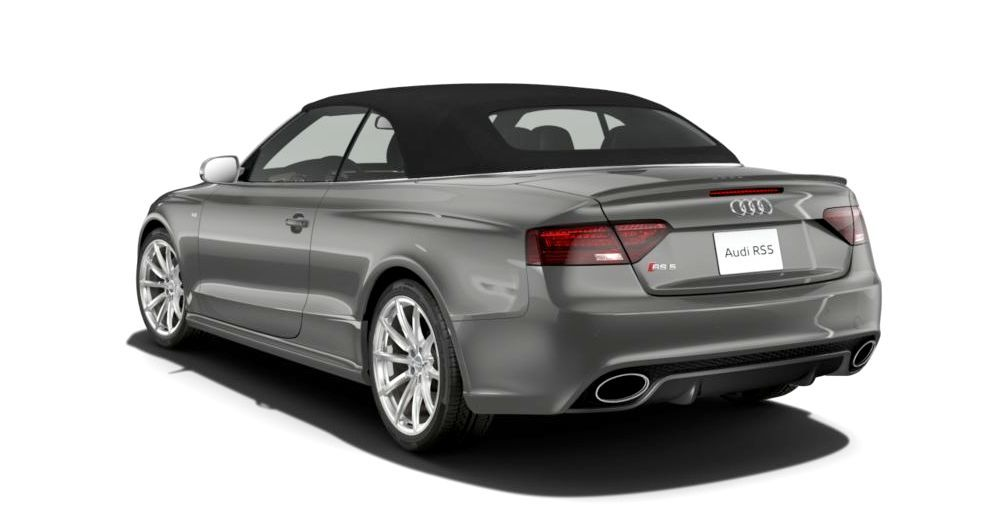 2014 Audi RS5 Cabriolet Buyers Guide - Black Optics vs Matte Aluminum Optics 43