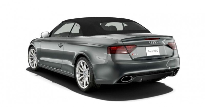 2014 Audi RS5 Cabriolet Buyers Guide - Black Optics vs Matte Aluminum Optics 48