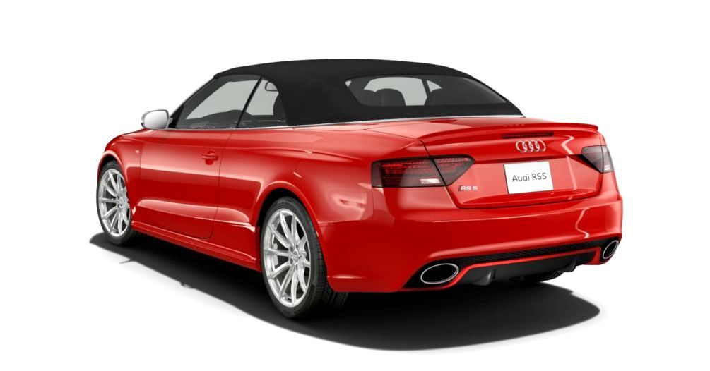 2014 Audi RS5 Cabriolet Buyers Guide - Black Optics vs Matte Aluminum Optics 53