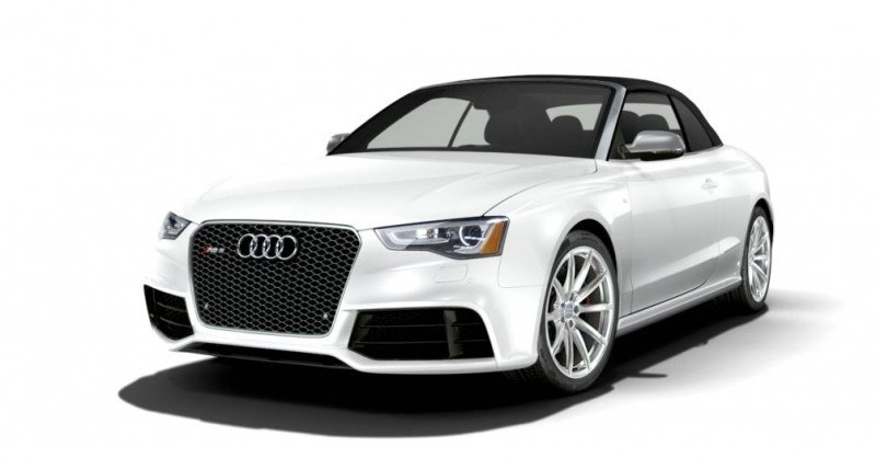 2014 Audi RS5 Cabriolet Buyers Guide - Black Optics vs Matte Aluminum Optics 56