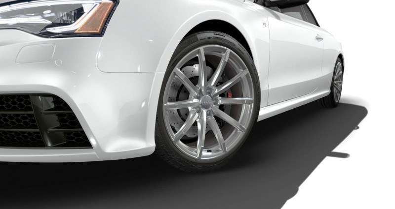 2014 Audi RS5 Cabriolet Buyers Guide - Black Optics vs Matte Aluminum Optics 60