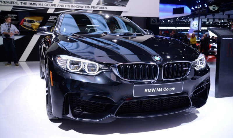 2014 BMW M4 Coupe Black 4