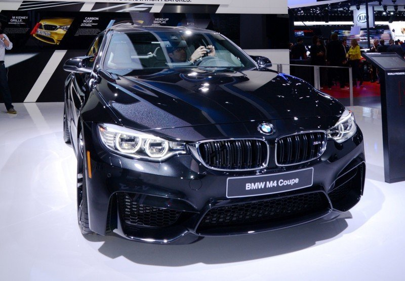 2014 BMW M4 Coupe Black 5