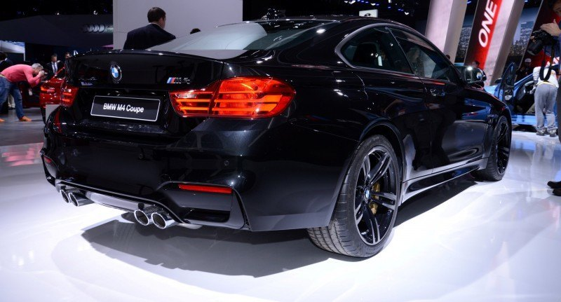 2014 BMW M4 Coupe Black 8