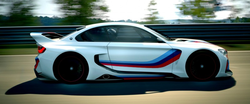 2014 BMW Vision Gran Turismo is 550HP Dream M4 CSL Widebody 52