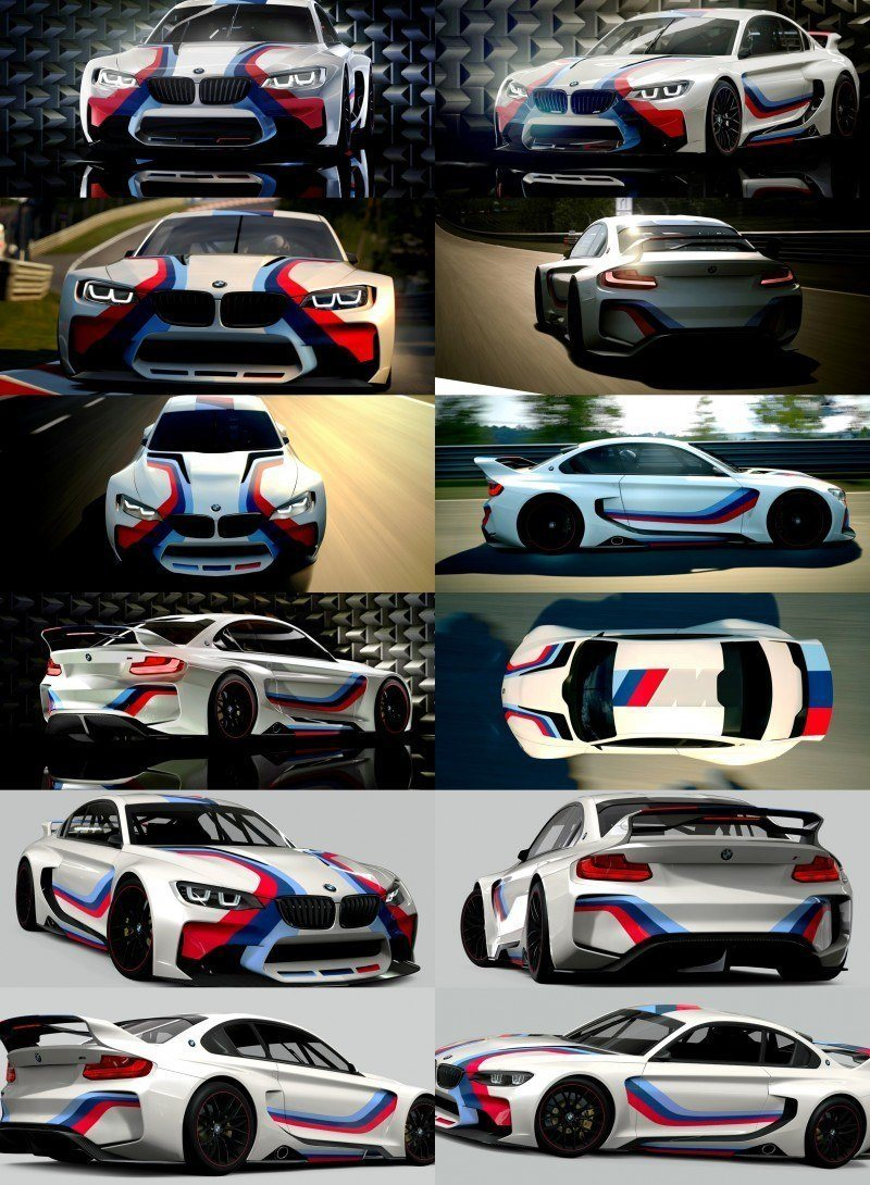 2014 BMW Vision Gran Turismo is 550HP Dream M4 CSL Widebody 55-tile