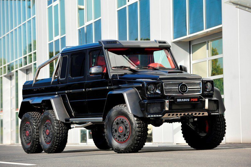 2014 BRABUS 700G 6x6 Is Most Lavish Off-Road Plaything Available 1