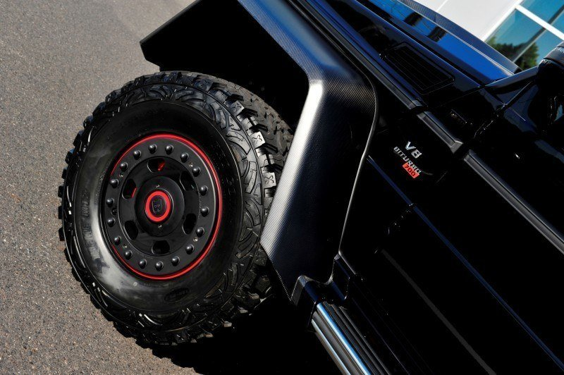 2014 BRABUS 700G 6x6 Is Most Lavish Off-Road Plaything Available 11