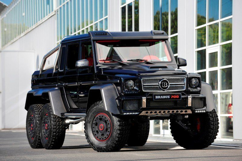 2014 BRABUS 700G 6x6 Is Most Lavish Off-Road Plaything Available 15