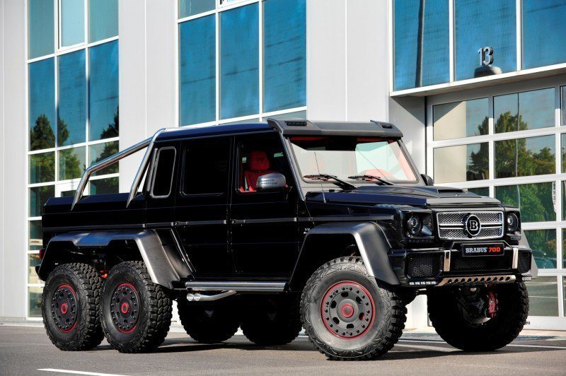 2014 BRABUS 700G 6x6 Is Most Lavish Off-Road Plaything Available 16