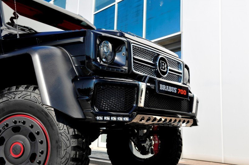 2014 BRABUS 700G 6x6 Is Most Lavish Off-Road Plaything Available 18