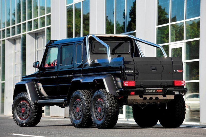 2014 BRABUS 700G 6x6 Is Most Lavish Off-Road Plaything Available 2
