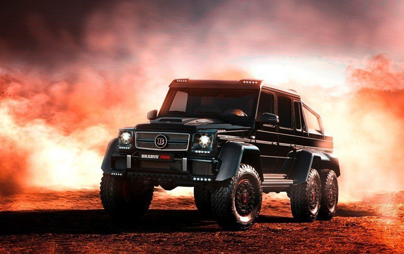 2014 BRABUS 700G 6x6 Is Most Lavish Off-Road Plaything Available 26