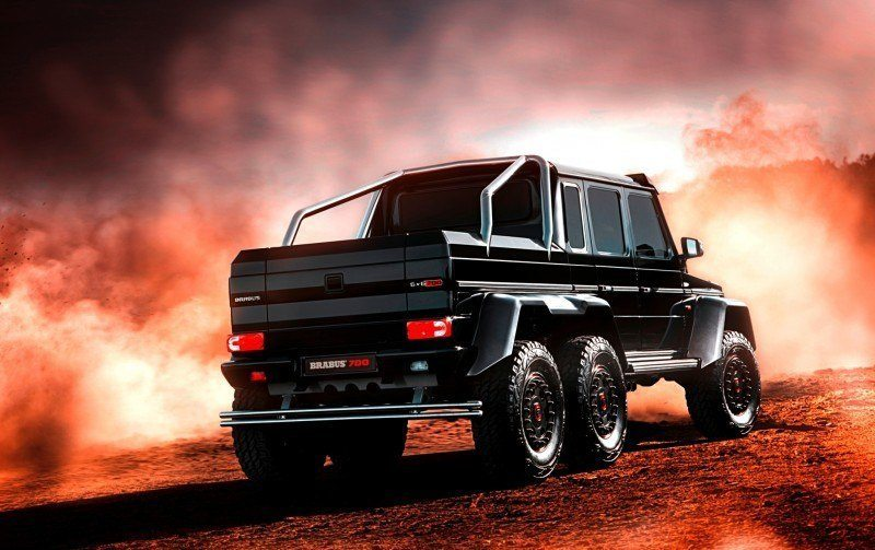 2014 BRABUS 700G 6x6 Is Most Lavish Off-Road Plaything Available 27