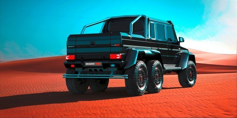 2014 BRABUS 700G 6x6 Is Most Lavish Off-Road Plaything Available 38