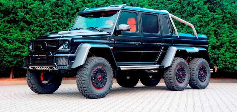 2014 BRABUS 700G 6x6 Is Most Lavish Off-Road Plaything Available 40