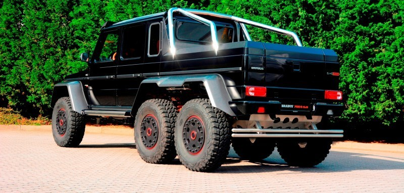 2014 BRABUS 700G 6x6 Is Most Lavish Off-Road Plaything Available 41