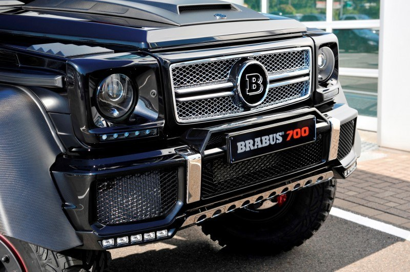 2014 BRABUS 700G 6x6 Is Most Lavish Off-Road Plaything Available 8