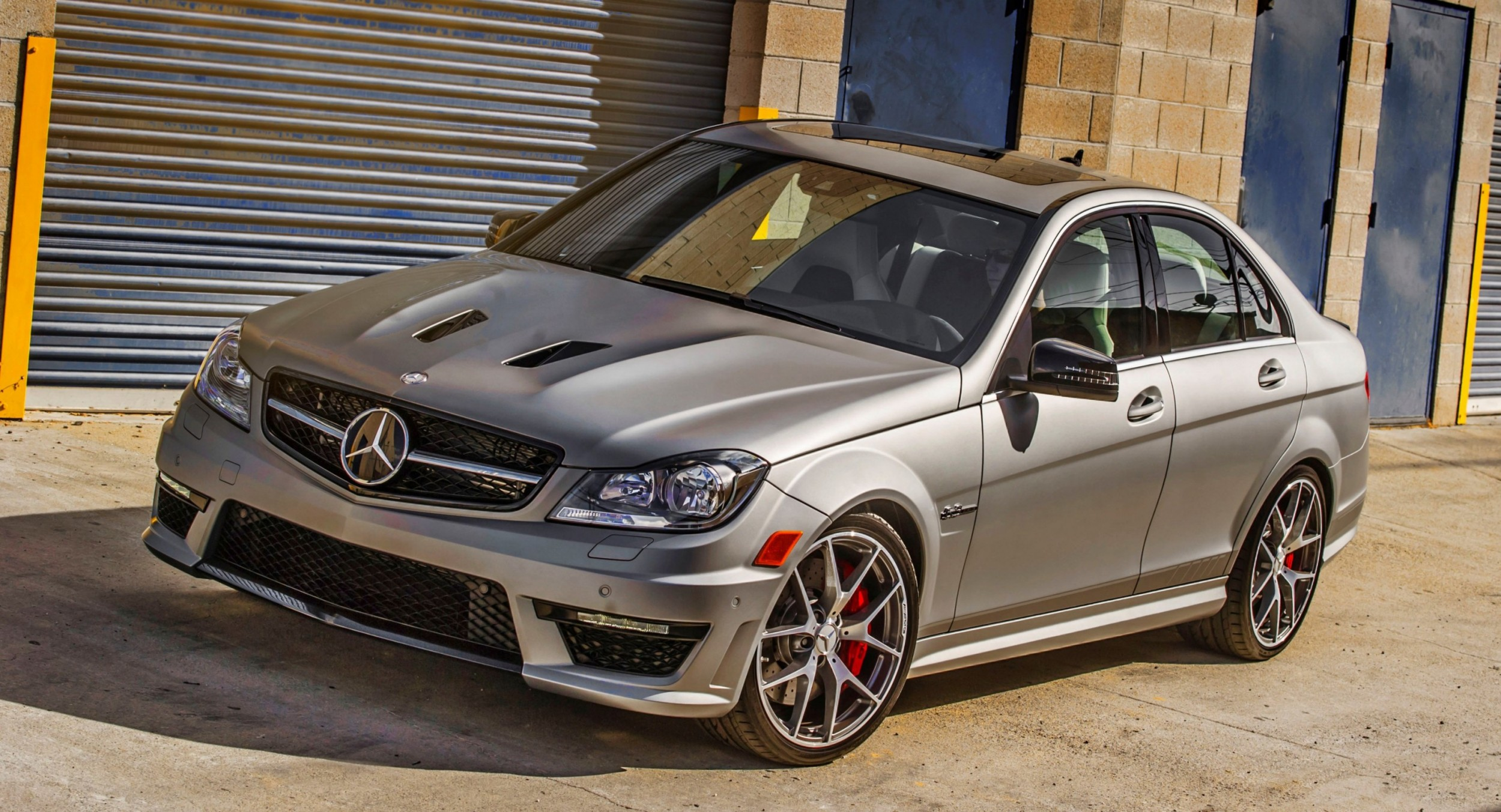 2014 c63 amg edition 507 sedan and coupe going out with v8 for Mercedes benz c63 2014