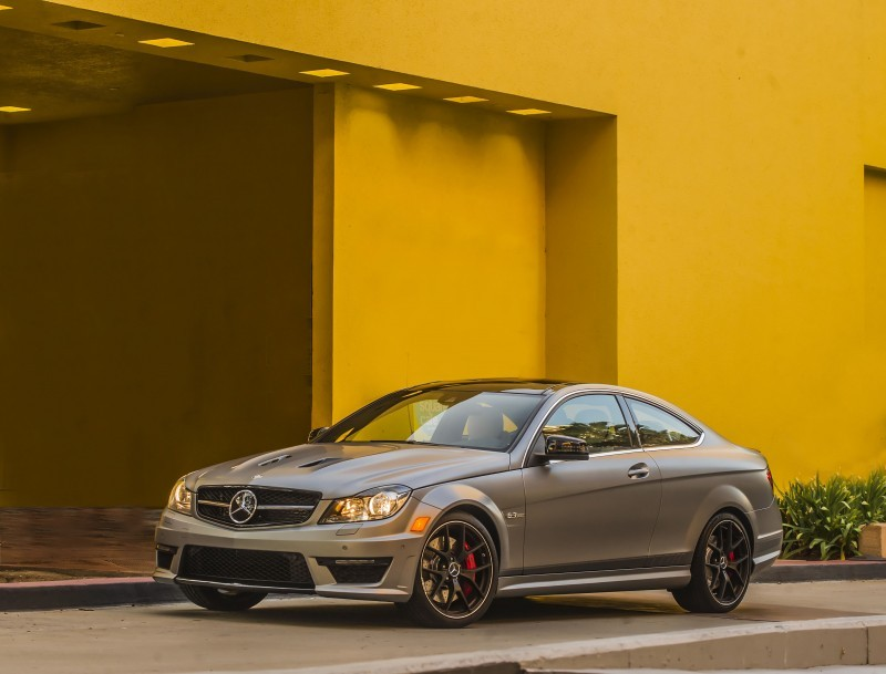 "2014 C63 AMG ""Edition 507"" Coupe"