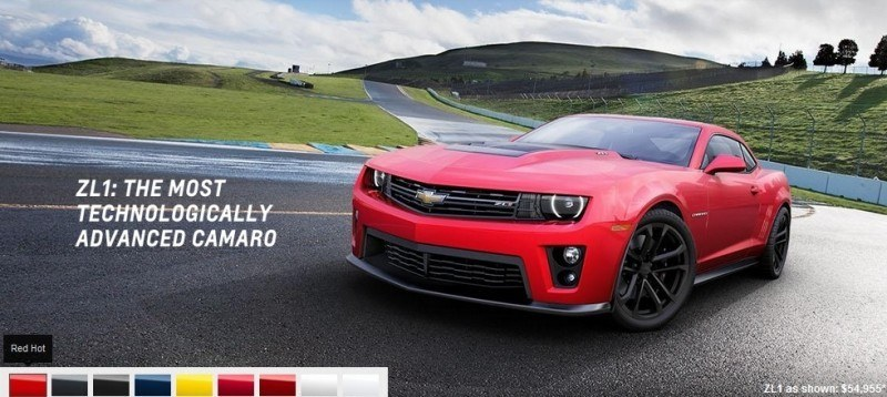 2014 Chevrolet CAMARO ZL1 Colors 10