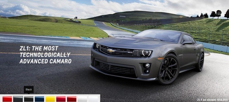 2014 Chevrolet CAMARO ZL1 Colors 11