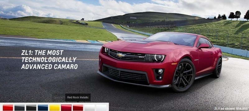 2014 Chevrolet CAMARO ZL1 Colors 15