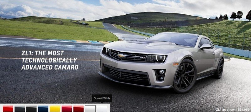 2014 Chevrolet CAMARO ZL1 Colors 17