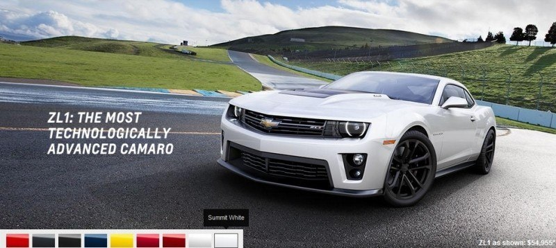 2014 Chevrolet CAMARO ZL1 Colors 18
