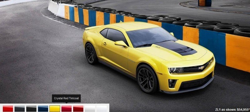 2014 Chevrolet CAMARO ZL1 Colors 5