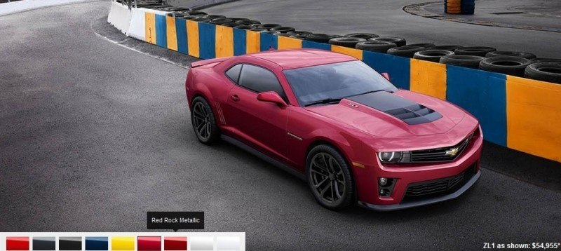 2014 Chevrolet CAMARO ZL1 Colors 6