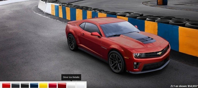 2014 Chevrolet CAMARO ZL1 Colors 7