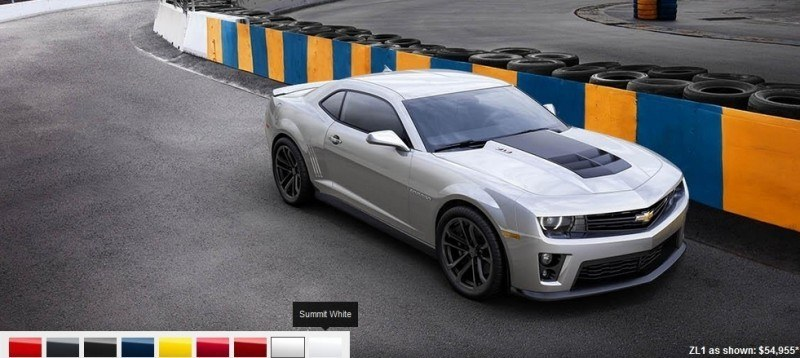 2014 Chevrolet CAMARO ZL1 Colors 8