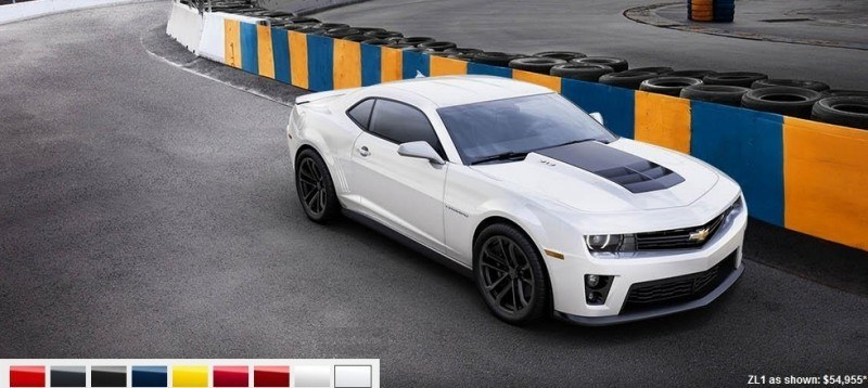 2014 Chevrolet CAMARO ZL1 Colors 9