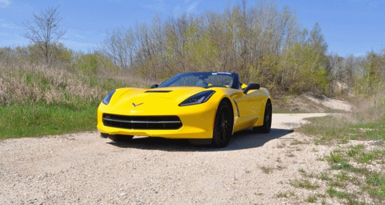 2014 Chevrolet Corvette Stingray Convertible GIF 2
