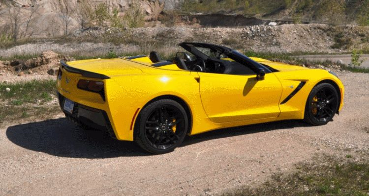 2014 Chevrolet Corvette Stingray Convertible GIF 32