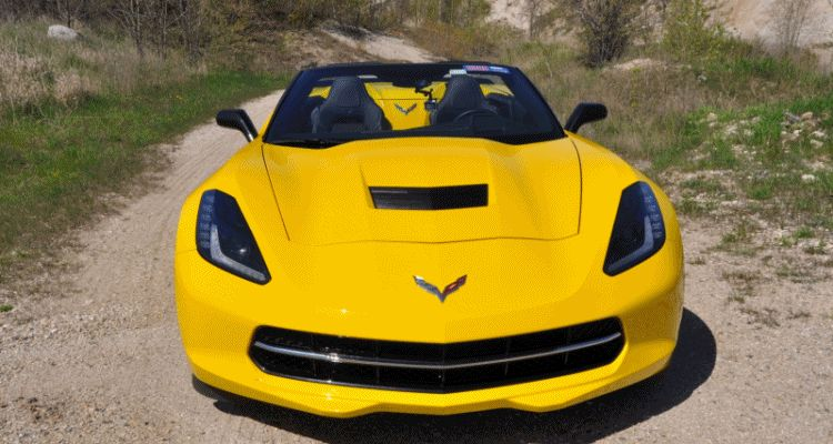 2014 Chevrolet Corvette Stingray Convertible GIF header