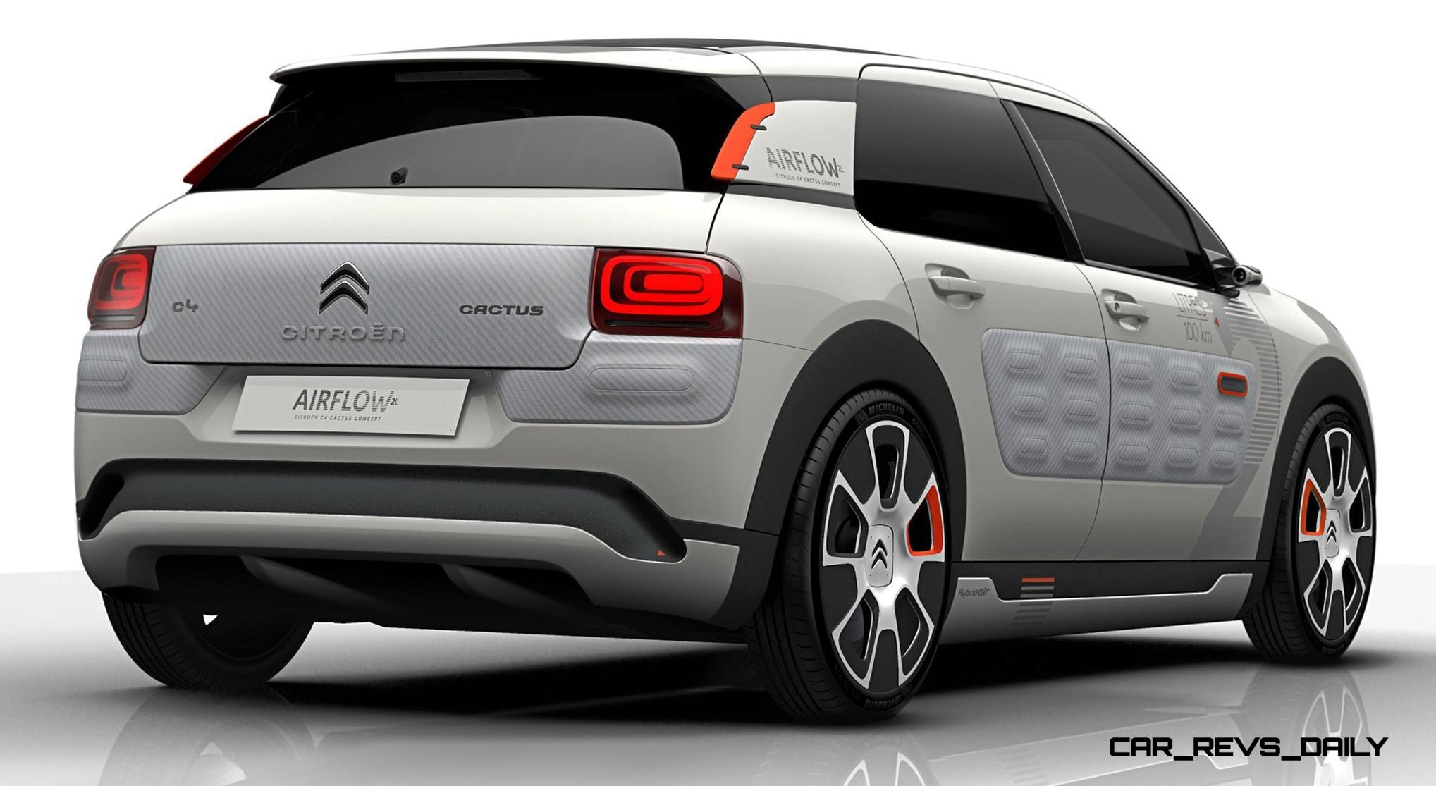 2014 citroen c4 cactus 2l airflow brings 141 mpg via active aero and compressed air hybrid. Black Bedroom Furniture Sets. Home Design Ideas