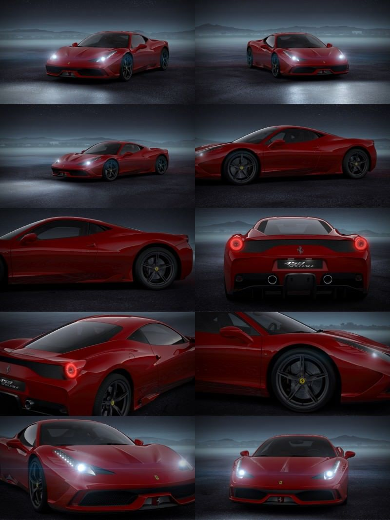 2014 Ferrari 458 Speciale Featured in All-New Car Configurator - See and Hear My Ideal Fezza 32-tile