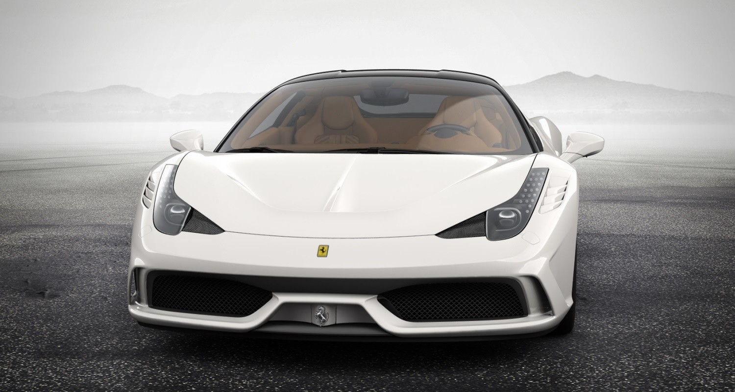 ferrari 2014 white. 2014 ferrari 458 speciale featured in allnew car configurator see and hear my white