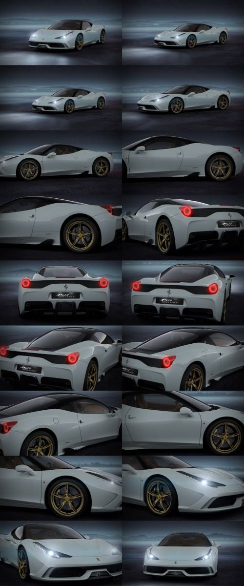 2014 Ferrari 458 Speciale Featured in All-New Car Configurator - See and Hear My Ideal Fezza 67-tile