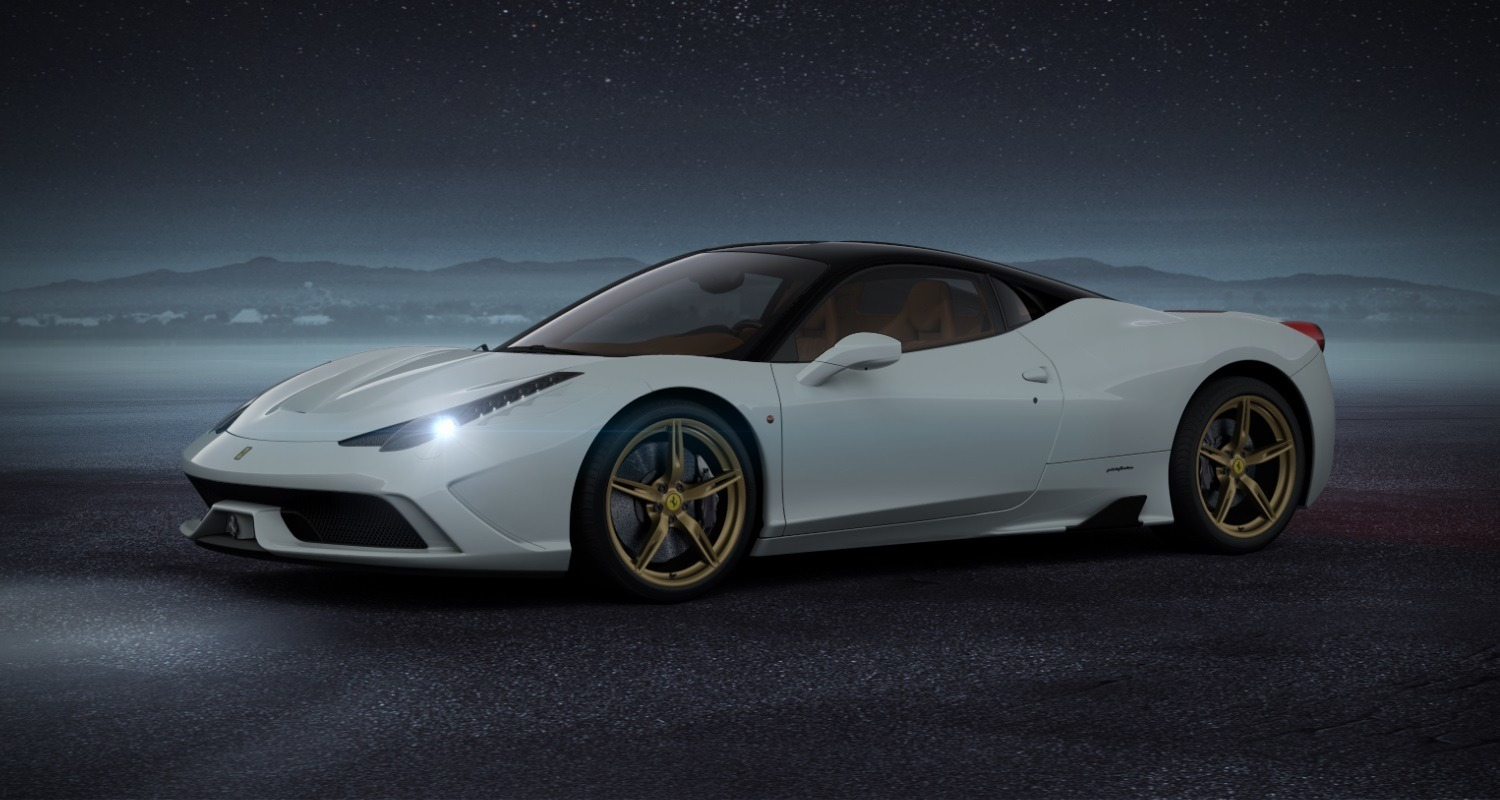 see hear my ideal 2014 ferrari 458 speciale in all new car conf. Cars Review. Best American Auto & Cars Review