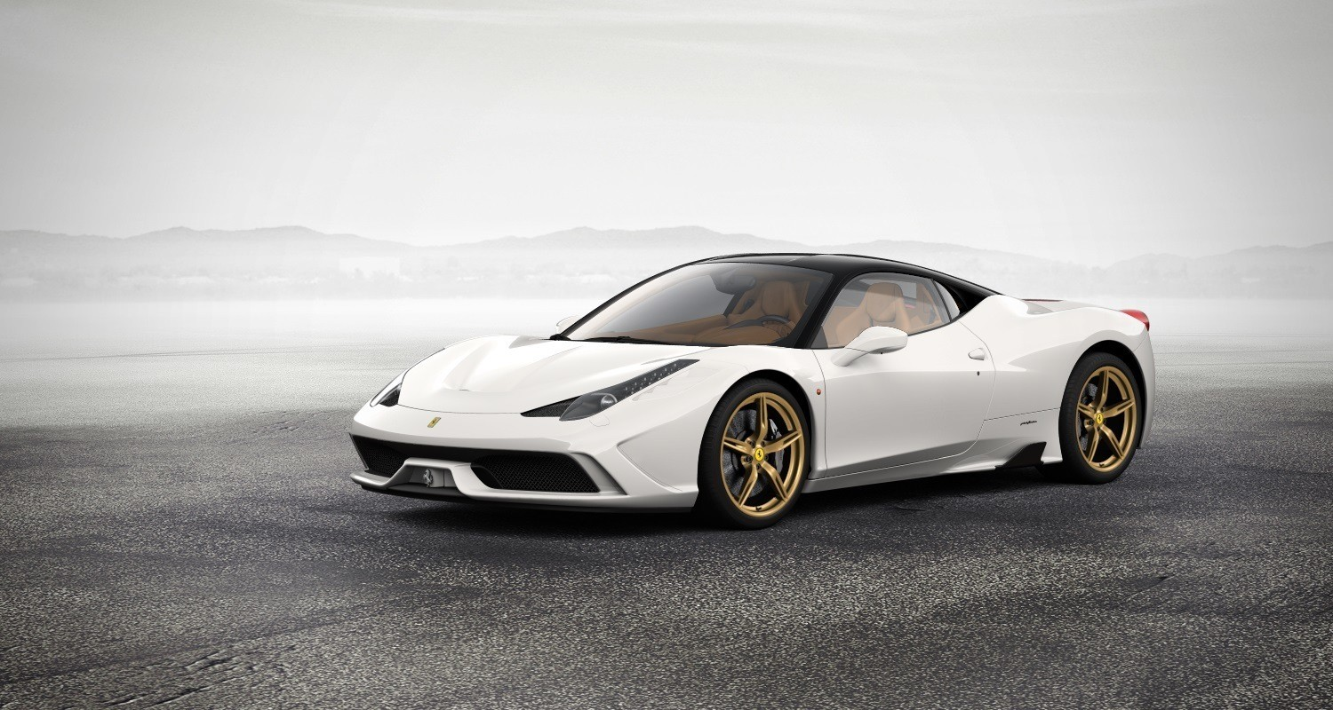 ferrari 2014 white. 2014 ferrari 458 speciale featured in allnew car configurator see and hear my white a