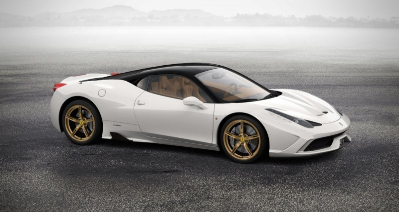 2014 Ferrari 458 Speciale Featured in All-New Car Configurator - See and Hear My Ideal Fezza 96